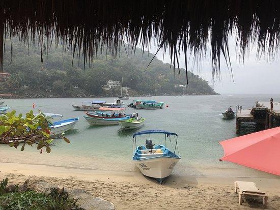 Boca de Tomatlan, Mexico: view from the terrace