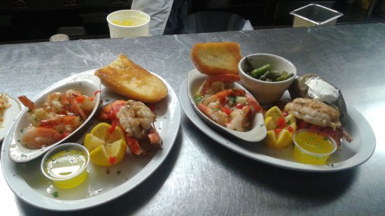 Brookhaven, PA: Baby Lobster Tail and Sauteed Shrimp
