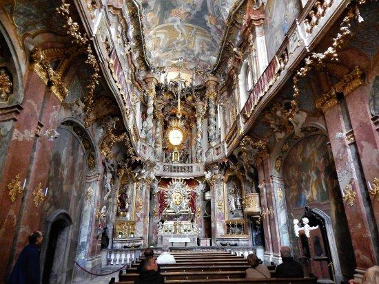 Asam Church: Stunning interior.