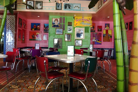 Chuy's Norman: Tables at one end of Chuy's main dining room.