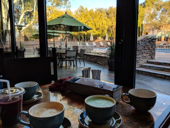 Canyon Ranch in Tucson: lovely breakfast