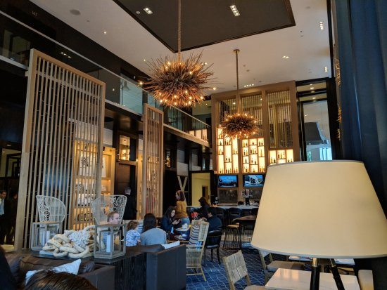 Hotel Republic San Diego, Autograph Collection: lobby with bar and nice setting for casual meals
