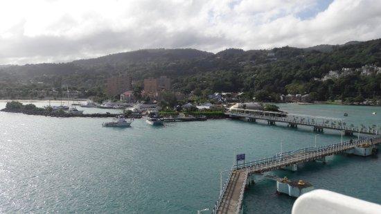 Ocho Rios Fort: desde el barco