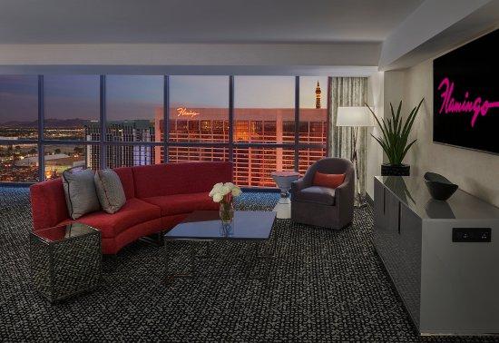 Flamingo Hotel Room Layout