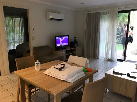 BreakFree Aanuka Beach Resort: a little different to website pic of 2br spa villa
