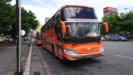 ฮัวเหลียน, ไต้หวัน: 花蓮客運のバス