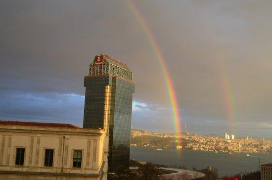 Grand Hyatt Istanbul: View from my room