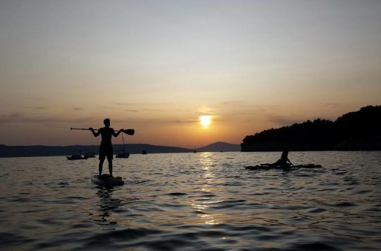 Sunset Stand Up Paddle Tour in Split