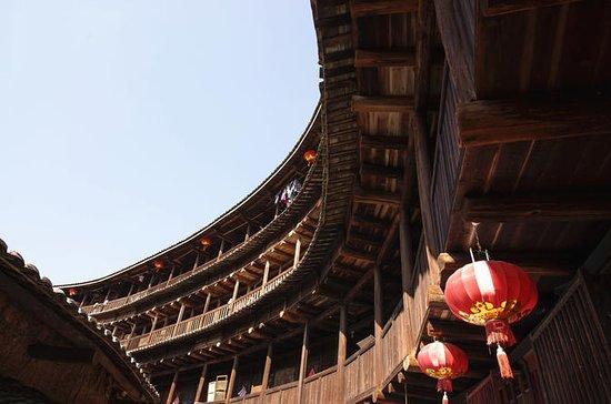 Kombinasjon: Overnatting i Hakka Tulou pluss 2-veis transfer fra Xiamen: Combo: Overnight in Hakka Tulou plus 2-way transfers from Xiamen