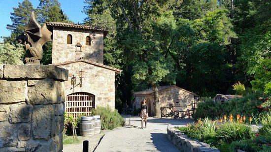 Castello di Amorosa: By the entrance