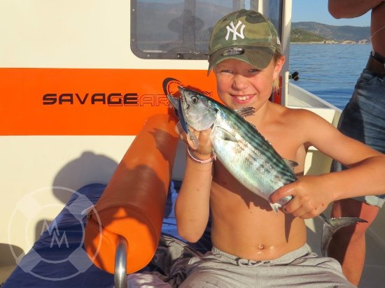 """Island of Vis, Kroatien: Aldough it is """"off the menu"""" offer, I can't deny a fishing trip to a supernice father and son."""