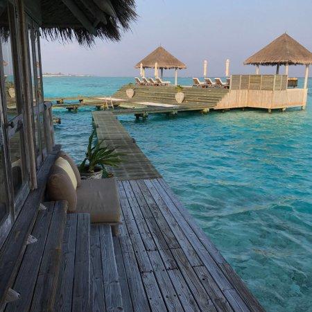 Perfect island great service best water villa