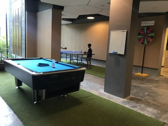 Billiard And Table Tennis Picture Of Aston Sentul Lake Resort - Table tennis conference table