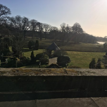 Clarencefield, UK: Amazing view from room