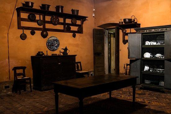 Casalzuigno, İtalya: Villa Porta Bozzolo - cucine