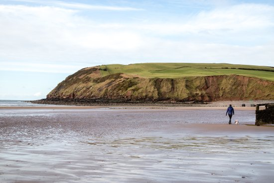 St. Bees, UK: St Bees Beach 0.5 miles from The Manor