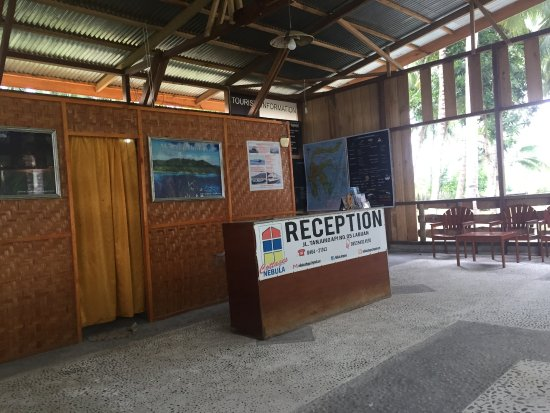 Ampana, Indonesia: reception area