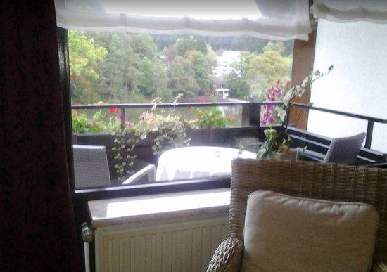 Bad Sachsa, Alemania: 'Living room' and 'Veranda'
