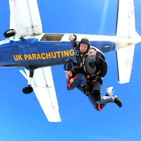 Peterborough, UK: Tandem Skydive exit