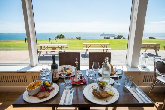 Dunmore East, Irland: Some beautiful food ready to be savoured