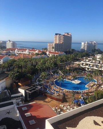 Iberostar Las Dalias: The view from the balcony at 8th floor