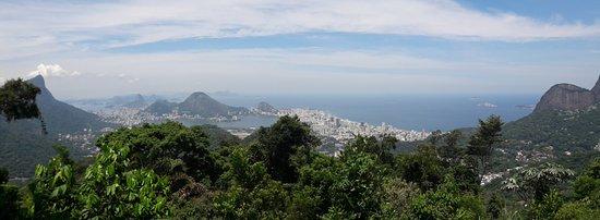 "Tijuca National Park: ""Vista Chinesa"" sobre o RJ"