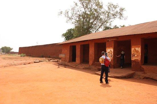 Abomey, Benin: Entrata del palazzo