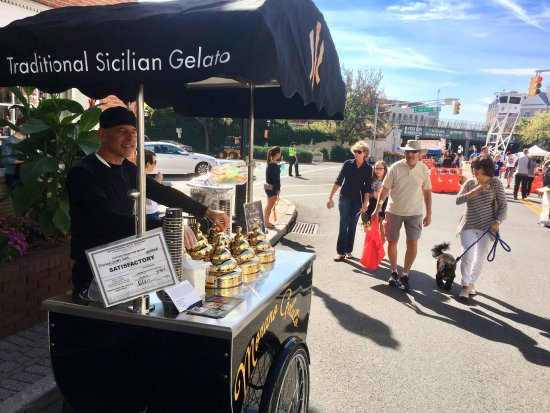 Westfield, NJ: check out the gelato cart!