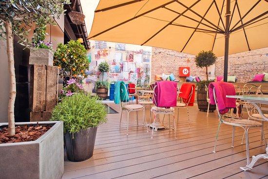 Exceptional Story Hotel Riddargatan: The Backyard Terrace