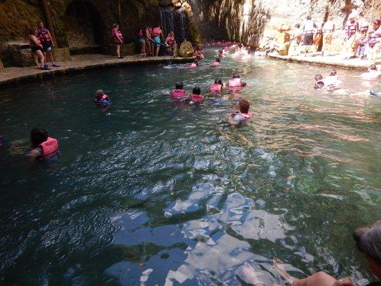 Parque Xcaret: Ríos subterráneos