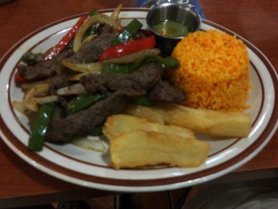Rincon Cubano: Steak Juliana