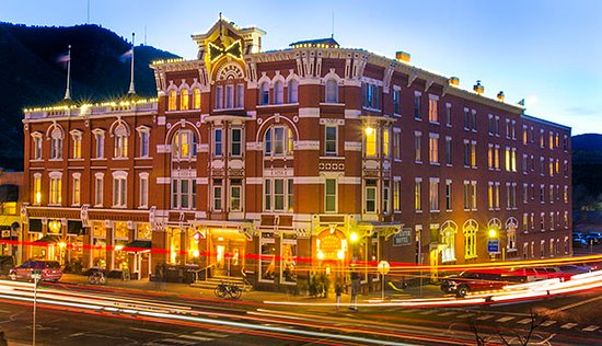 The historic Strater Hotel in Durango, Colorado.