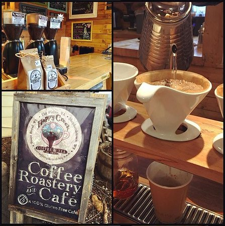 Happy Creek Coffee & Tea: Nice little shop.