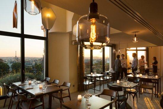 Terrass 39 39 restaurant paris 18th arr buttes - Hotel chambre avec terrasse paris ...