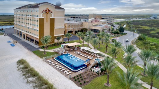 Bay Saint Louis, MS: Beachside Hotel, Casino, Pool/Bar