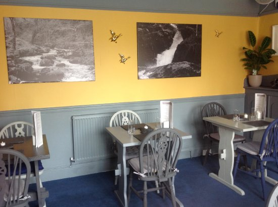 Proper Gander: Come and see our new decor! One half of our first floor restaurant.