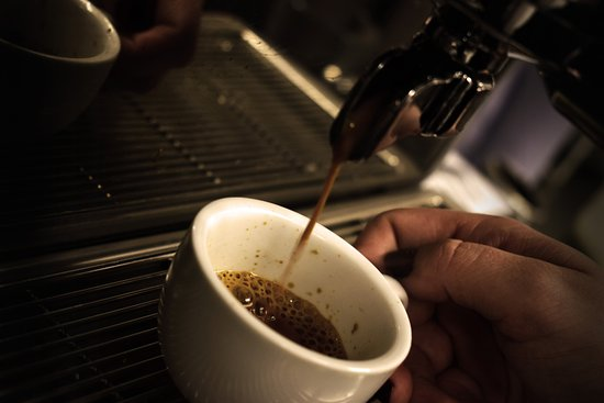 Alfreton, UK: coffee
