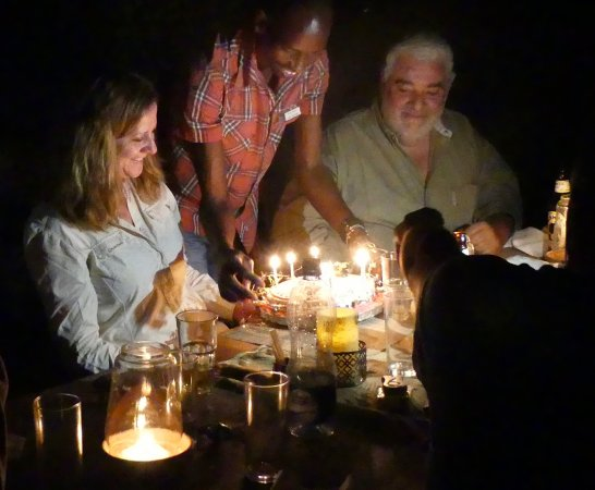 Meru National Park, Kenia: Birthday