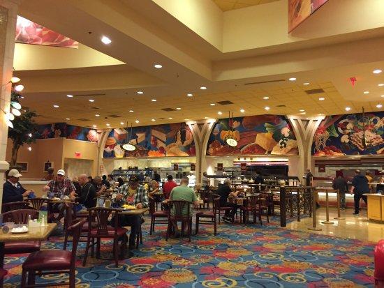 Immense dining room at Garden Buffet