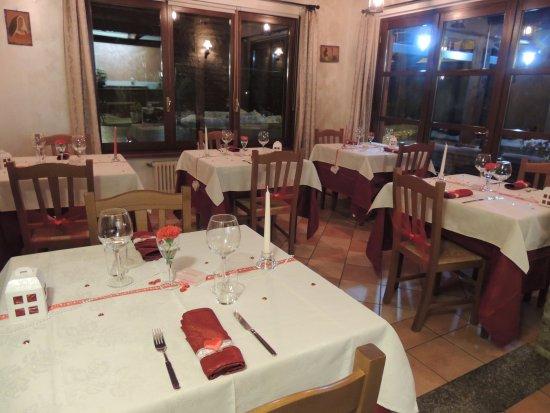 Bossolasco, Italy: La nostra saletta