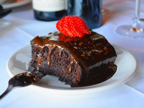 Myron's Prime Steakhouse - New Braunfels: Chocolate Cake