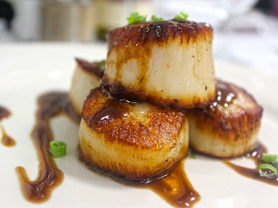 Myron's Prime Steakhouse - New Braunfels: Scallops