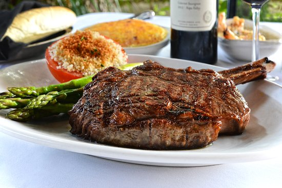 Myron's Prime Steakhouse - New Braunfels: Bone-In Ribeye