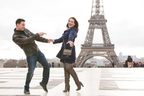 A beautiful surprise proposal in Paris ending with a lovely YES! Contact us to capture the momen