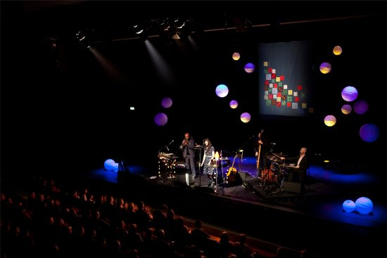 Ennis, Ireland: The glór 485 seater auditorium hosts music, theatre, comedy, & much more year round.