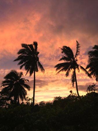 Upolu, Samoa: Salani Sunset