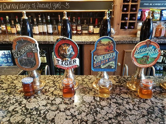 Our Classic Selection of Everards Real Ales - Picture of The