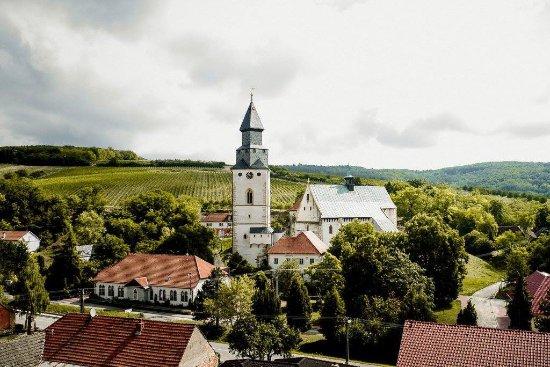 Hustopece, Republik Ceko: Barrio gotico cafe