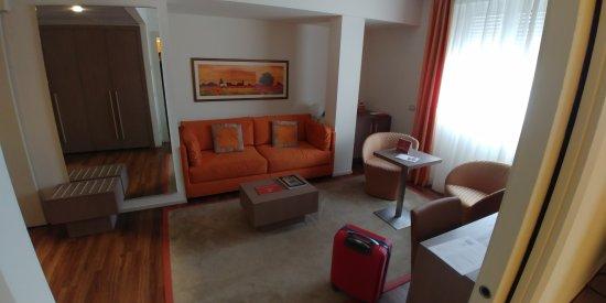 Hotel Bristol Buja : suite orange