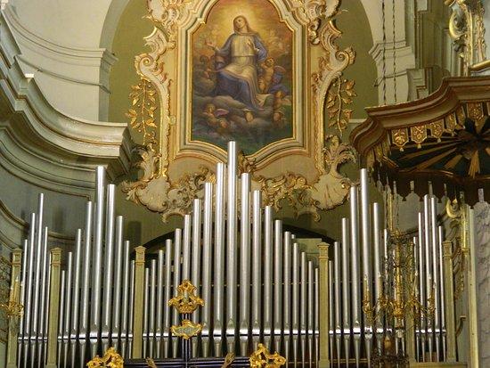 interno organo picture of parocchia santa maria degli